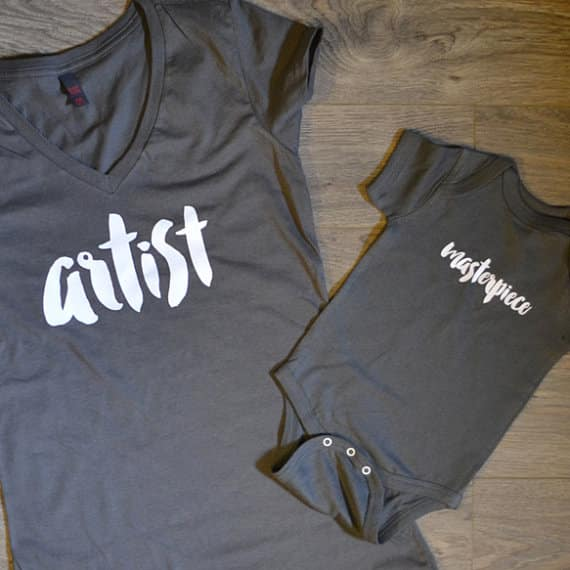 mom and son shirts