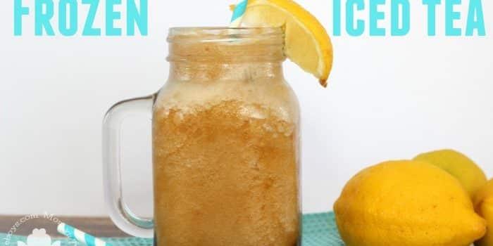 Frozen Iced Tea to Beat the Heat