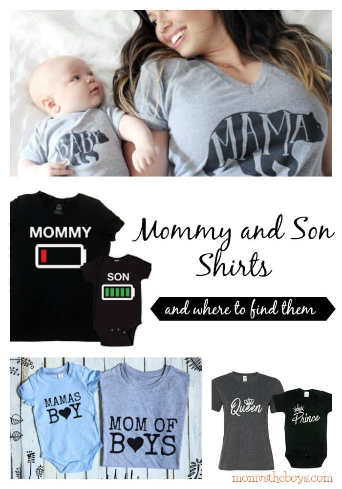 3f2d7bc450 Mommy and Son Shirts for Boy Moms who want to match their Little Boys -
