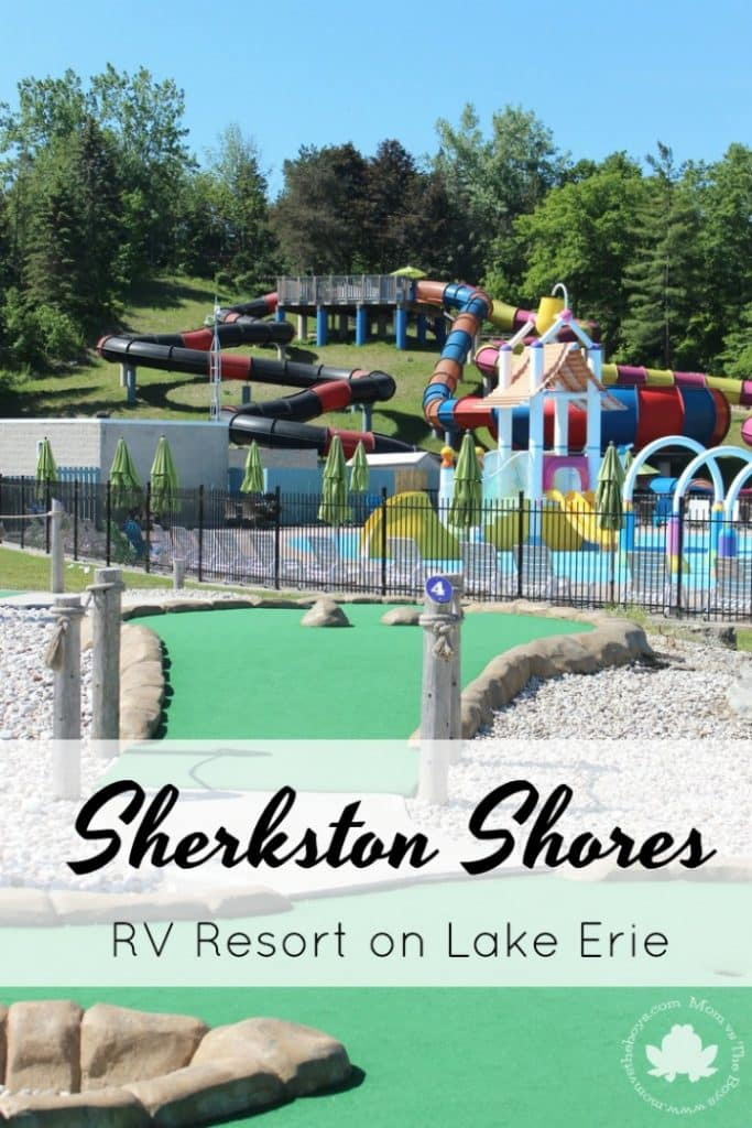 Sherkston Shores Rv Resort On Lake Erie Mom Vs The Boys