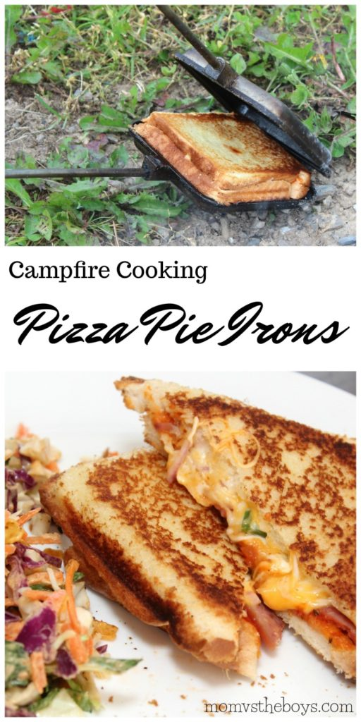 Camping Food - Pizza Pie Irons