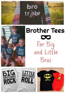 Big Brother Tees for Big and Little Bros