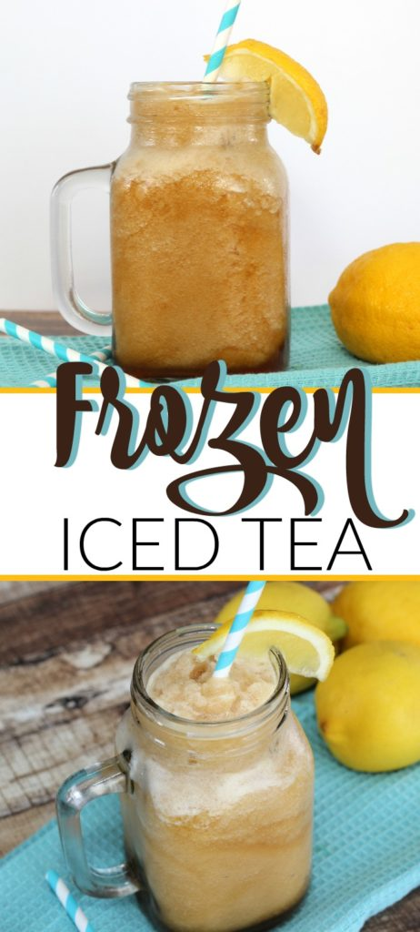 FROZEN ICED TEA