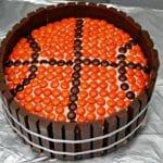 Basketball Kit Kat Cake