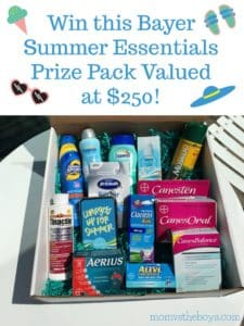 Summer Escapes with Bayer {Giveaway}