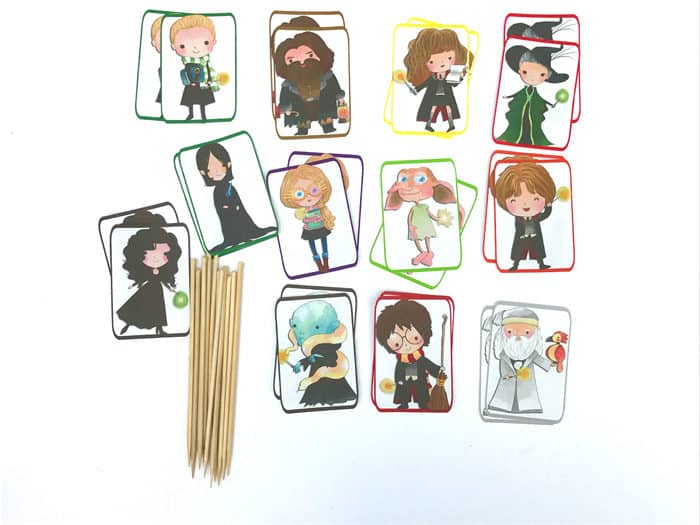 Harry Potter Cupcake Toppers - Free Printable