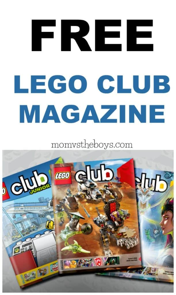 Free Lego Club Magazine Offer. Get a LEGO Magazine Subscription for FREE    Mom vs the Boys