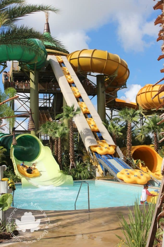 Guide to the Rides at Volcano Bay