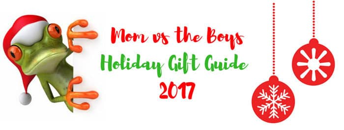Mom vs the Boys Holiday Gift Guide 2017