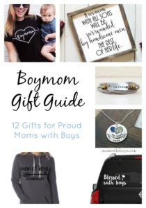 Boymom Gift Guide- 12 items Moms with Boys can add to their Wish List