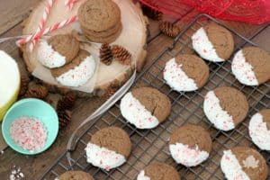 Chocolate Peppermint Cookies to #BakeWithHeart