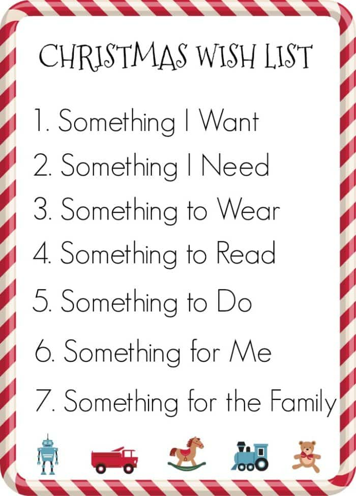 7 gifts for christmas