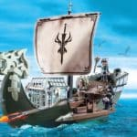 playmobil dracos ship