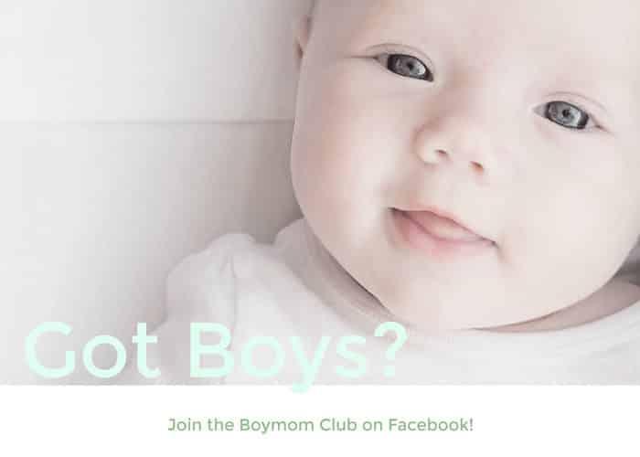 Got Boys? Join the Boymom Club!