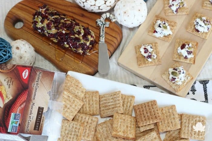 Holiday Triscuit Appetizer Spread