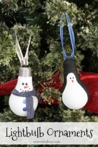 Lightbulb Ornaments