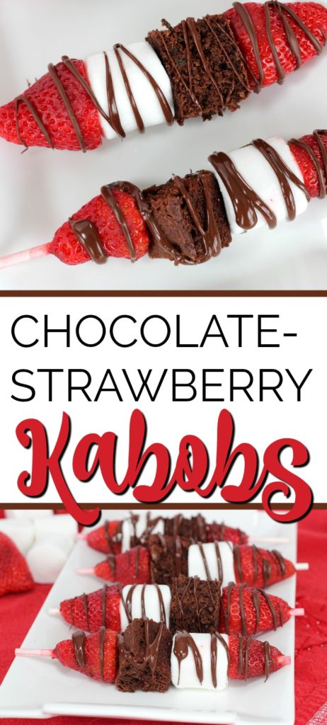 Chocolate Strawberry Kabobs