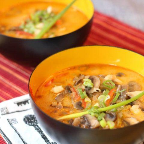 Thai Soup - Mom vs the Boys