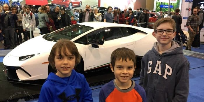 Kids Who Love Cars – The Canadian International Autoshow is a Must Do!