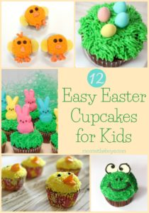 12 Easy Easter Cupcakes For Kids!