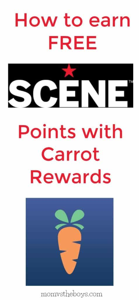 free scene points with carrot rewards
