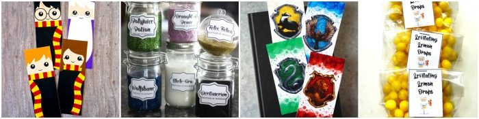 Harry Potter Birthday Party Favors