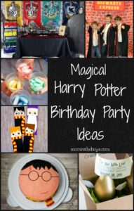 Harry Potter Birthday Party Ideas To Make the Day Magical
