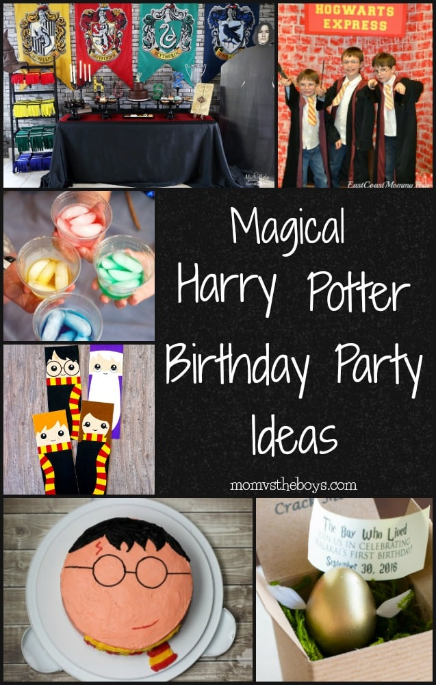 Harry Potter Birthday Party Ideas to make the day magical!