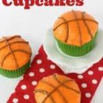 Basketball Cupcakes - Mom vs the Boys