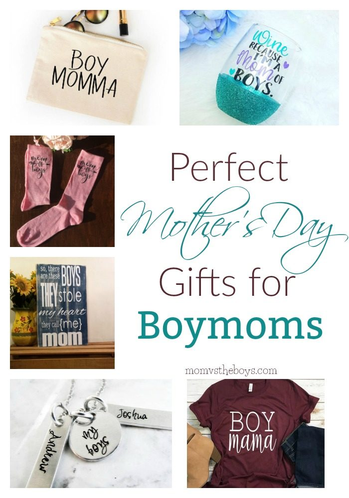 Perfect Mother's Day Gifts for Boymoms - From personalized jewelry to wearing your pride for your boys, these 14 mother's day gift ideas are sure to be a hit with all moms of boys