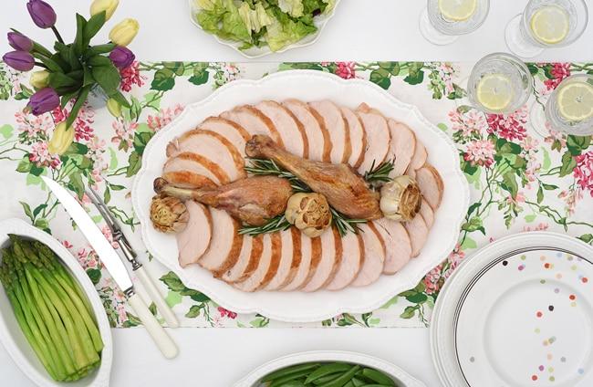 Easy Roast Turkey Dinner