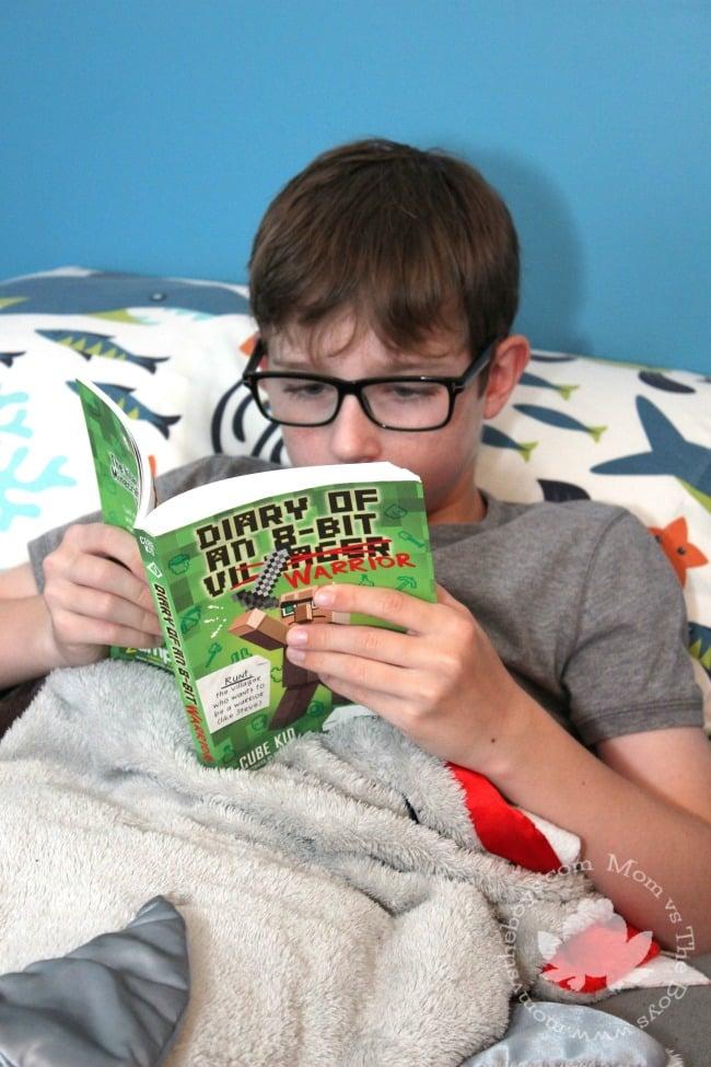 tips to encourage boys to read