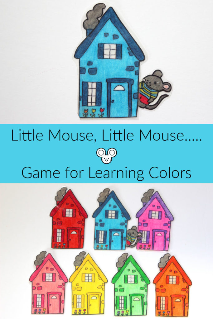 Little Mouse, Little Mouse.... Activity for Learning Colors