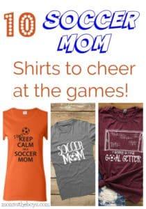10 Soccer Mom Shirts To Cheer at the Games!