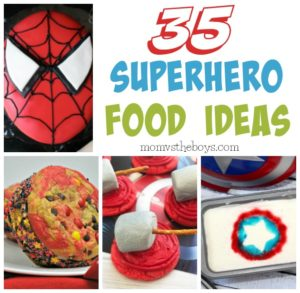 Superhero Party Food Ideas - Mom vs the Boys