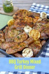 BBQ Turkey Mixed Grill Dinner