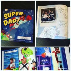 Personalized children's book to celebrate Father's Day