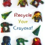 Recycle Crayons To Give Them New Life!