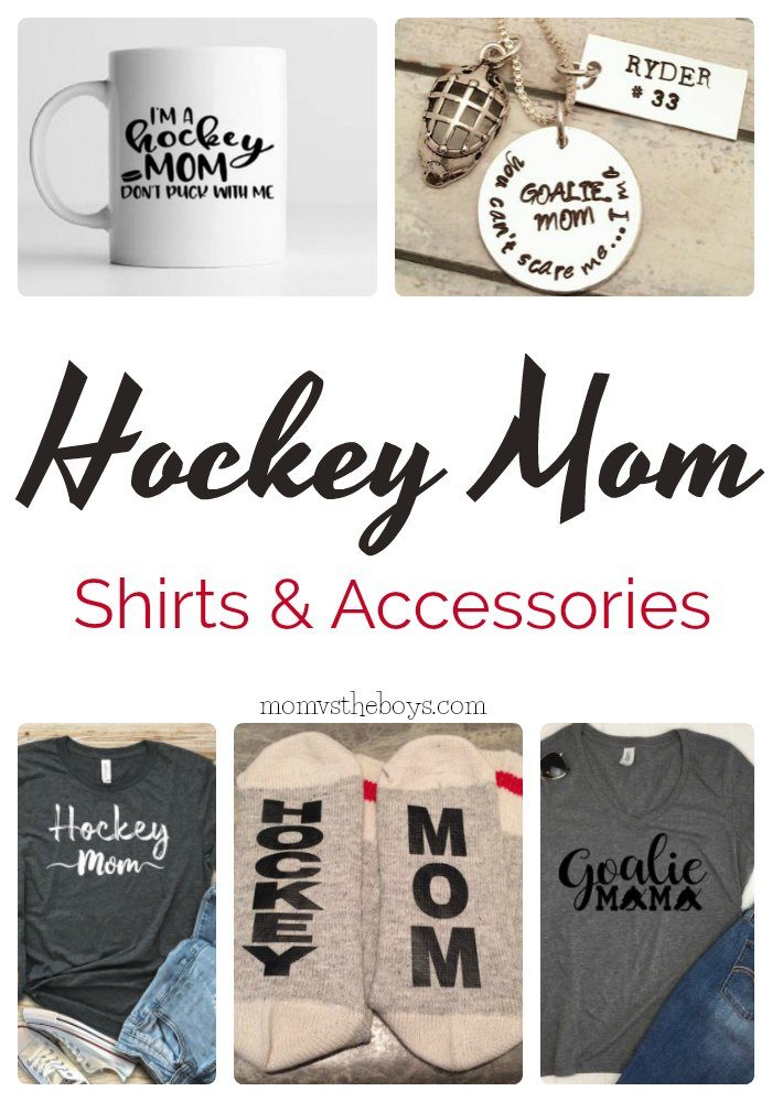 hockey mom shirts and accessories