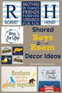Adorable Shared Boys Room Decor Ideas