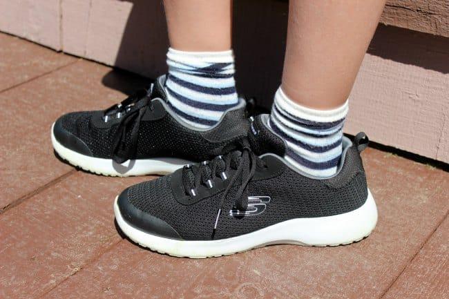 black skechers shoes