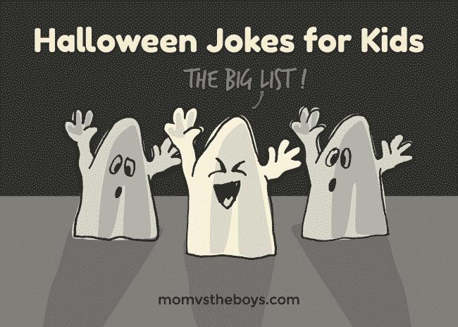 the big list of halloween jokes for kids