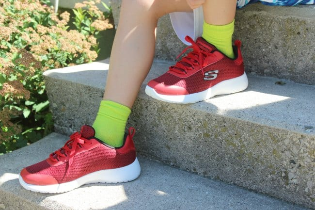 red skechers shoes for boys