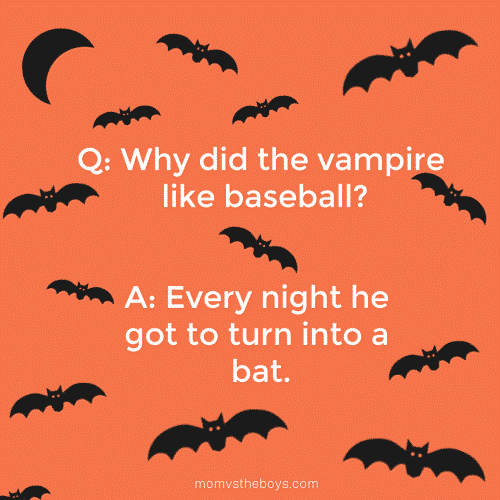 The Big List of Halloween Jokes for Kids - Mom vs the Boys
