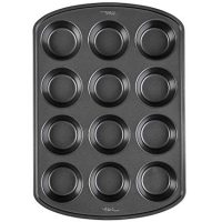 Wilton Perfect Results Premium Non-Stick Bakeware Muffin and Cupcake Pan, 12-Cup