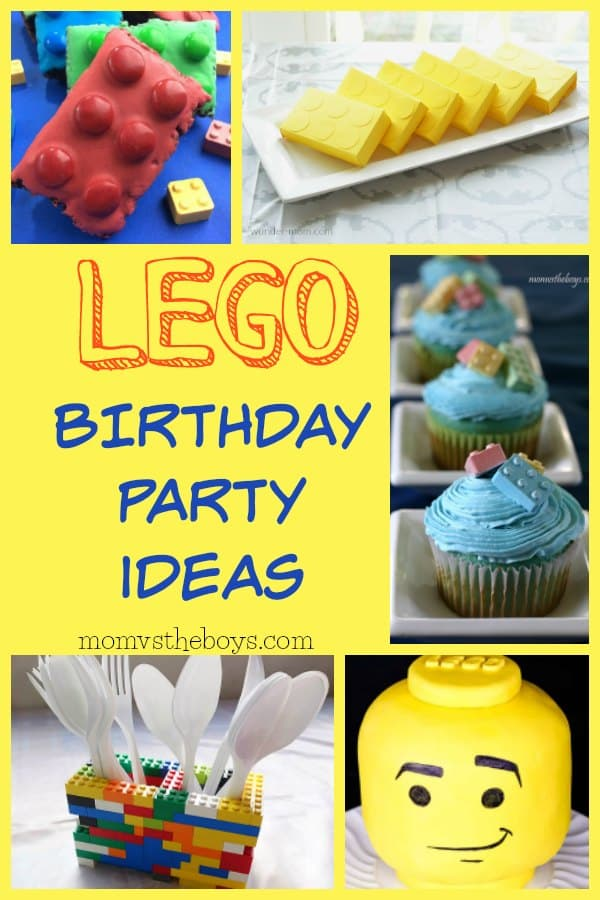 Admirable Lego Birthday Party Ideas For Your Master Builder Mom Vs The Boys Funny Birthday Cards Online Barepcheapnameinfo