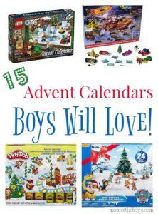 Advent Calendars Boys Will Love