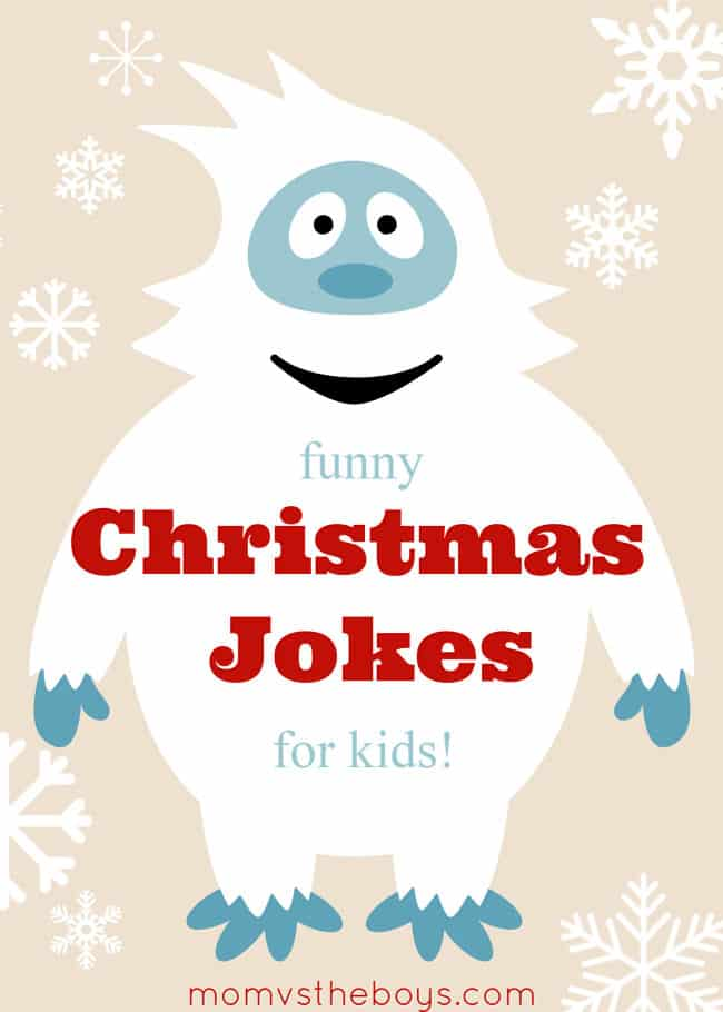 Funny Christmas Jokes for Kids - Mom vs the Boys