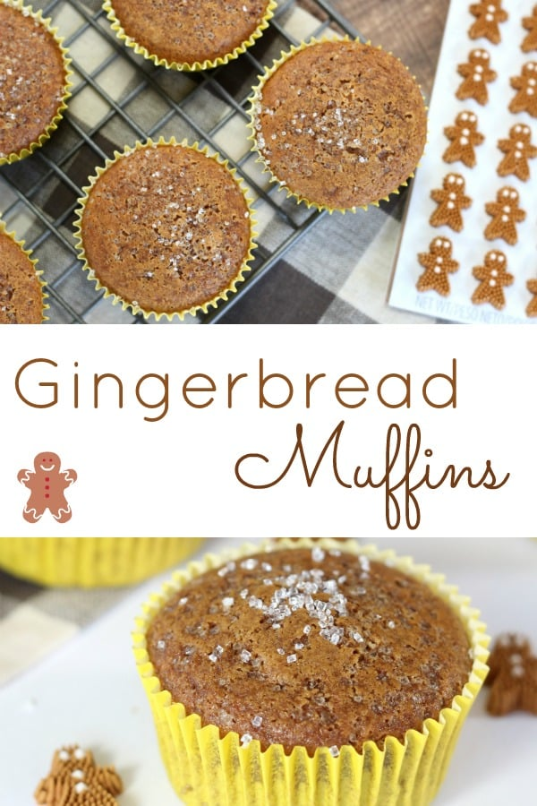 Gingerbread Muffins are soft and delicious, the perfect way to enjoy gingerbread flavour over the Christmas season.