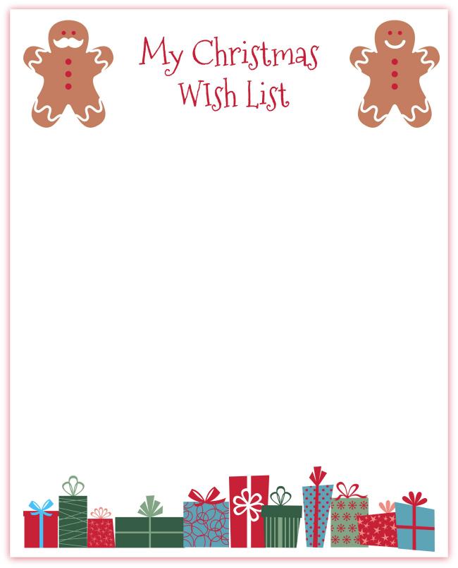Printable Christmas Wish List Ideas.Christmas Wish List Printables 3 Versions Mom Vs The Boys